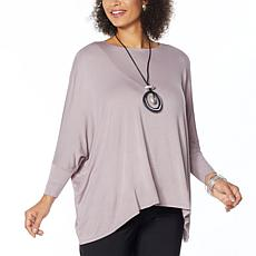 """As Is"" WynneLayers Boxy Bateau Neck Top"