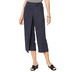 """As Is"" WynneLayers Crepe Wrap Pant"