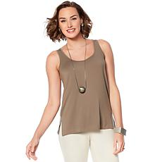"""""""As Is"""" WynneLayers Essential 2-pack Stretch Layering Tanks"""