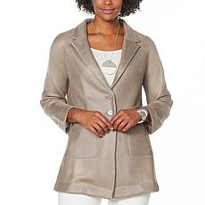 """As Is"" WynneLayers Mesh Blazer"