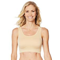 """As Is"" Yummie Soft Scoop Seamless Bra with Removable Pads"
