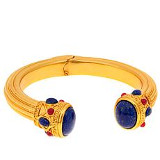 Asa Jewelry Lapis and Red Quartzite Cuff Bracelet