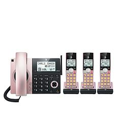 AT&T 4-Handset Corded/Cordless Phone System With Smart Call Block