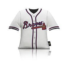 Atlanta Braves Plushlete Big League Jersey Pillow