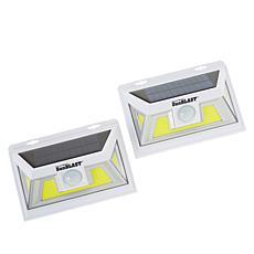 Atomic Beam™ 2-pack SunBlast® Plus Solar-Powered Motion Sensor