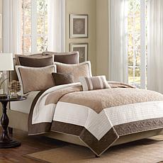 Attingham 7-Piece Coverlet Set - Full/Queen/Beige