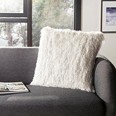 "august  &  leo   18"" x 18"" Metallic Decorative Pillow"