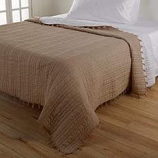 august & leo Cotton Blanket with Tassels