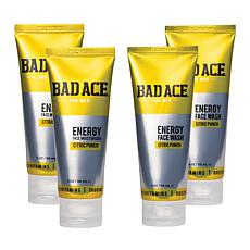 BAD ACE Moisturizer and Face Wash 4-Pack