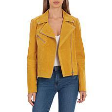 Bagatelle NYC Genuine Suede Biker Jacket