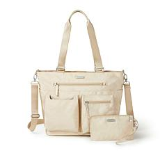 Baggallini Any Date Tote with RFID Wristlet