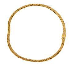 Bali Designs Gold-Plated Gemstone Clasp Tulang Naga Necklace