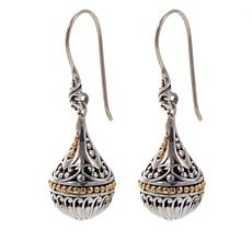 Bali Designs Scrollwork Small Orb Drop Earrings