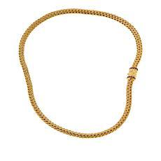 Bali RoManse Gold-Plated Gemstone Clasp Tulang Naga Necklace