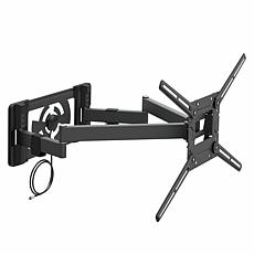 "Barkan 40""-90"" Full-Motion TV Mount w/Built-in 40-Mile Range Antenna"