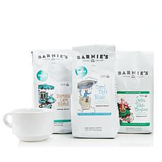 Barnie's Coffee Kitchen Decaf Ground Trio
