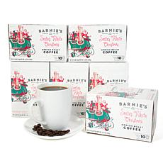 Barnie's Coffee Santa's White Christmas Single Cups 60-count