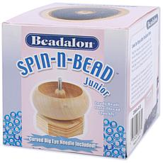 Beadalon Spin-n-Bead Loader Junior - Wood