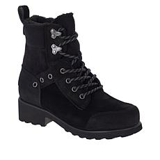 BEARPAW® Alicia Suede Lace-Up Boot with NeverWet™