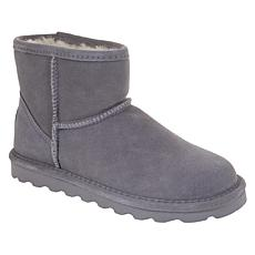"BEARPAW® Alyssa 5"" Suede Sheepskin Boot with NeverWet™"