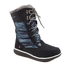 BEARPAW® Aretha Suede Lace-Up Boot with NeverWet™