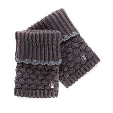 BEARPAW® Cuffed Knit Boot Toppers