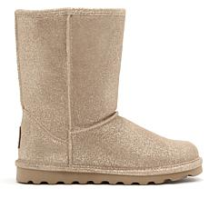 BEARPAW® Elle Suede Sheepskin Boot with NeverWet™