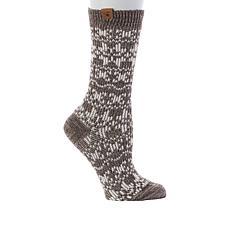 BEARPAW® Jacquard Nordic Crew Socks