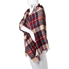 BEARPAW® Plaid Blanket Wrap