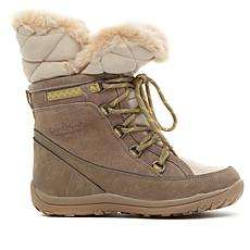 BEARPAW® Whitney Leather Waterproof Laced Boot with NeverWet™