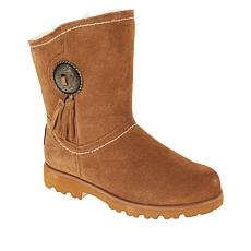 BEARPAW® Winslow Suede Concho and Tassel Boot with NeverWet™