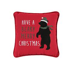 Beary Christmas Pillow