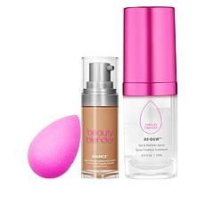 beautyblender® Bounce and Glow Deluxe 3-piece Kit
