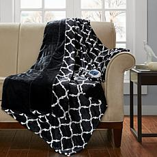 Beautyrest Heated Ogee Throw