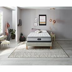 "Beautyrest Plush Euro Top Mattress Set with 5"" Foundation - Twin"