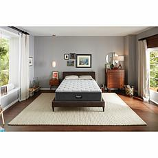 """Beautyrest Silver Plush Cal King Mattress with 9"""" Foundation"""