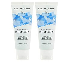 Beekman 1802 2-pack Goat Milk Walking on Clouds Heel Polish