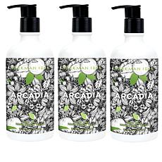 Beekman 1802 Arcadia Goat Milk Hand and Body Wash Trio
