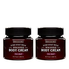 Beekman 1802 Fig Leaf Goat Milk Whipped Body Cream Duo - Auto-Ship®