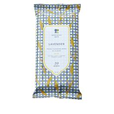 Beekman 1802 Goat Milk 30-Count Face Cleansing Wipes - Lavender