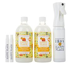 Beekman 1802 Happy Place Citrus Fabric Freshener Concentrate Kit
