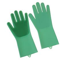 Beekman 1802 Happy Place Dishwashing Scrubber Gloves