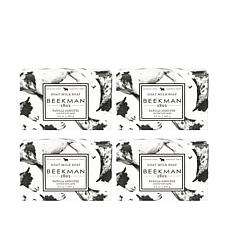 Beekman 1802 Vanilla Absolute Goat Milk Bar Soap 4-piece Set