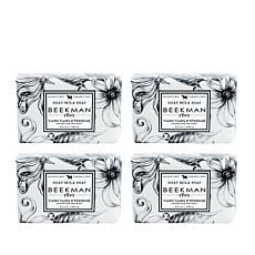 Beekman 1802 Ylang Ylang & Tuberose Goat Milk Bar Soap 4-piece Set