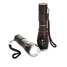 Bell + Howell TacLight Elite High Performance Flashlight 2-pack