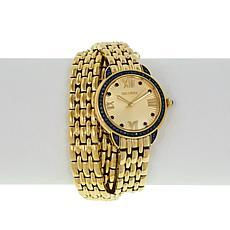 Bellezza Panther-Link Watch and Bracelet Set