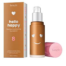 Benefit Cosmetics Shade 8 Hello Happy Flawless Brightening Foundation