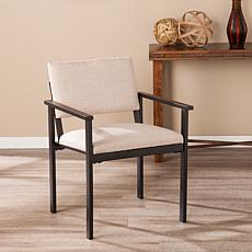 Benziger Upholstered Arm Chair - Oatmeal