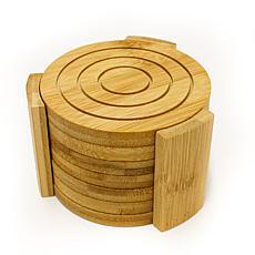 BergHOFF Bamboo 7-piece Natural Coaster Set