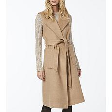 Bernardo Wrap Wool Vest